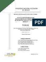evaluacion de riesgo por deslizamiento de tierras en el municipiode Temoaya, Edo Mex.pdf