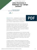 Como Funciona o Marketplace No Varejo Online