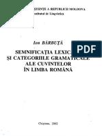 Barbuta -- Semnificatia lexicala si categoriile gramaticale.pdf