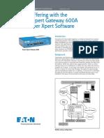 AP02603003E - Data Buffering PXG600