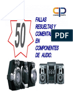50 Fallas de Audio resueltas