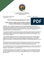 Police Precinct Reorganization-pr