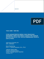 Studi Karakteristik Energi Yang Dihasilkan Mekanisme Vibration Energy Harvesting Dengan Metode Piezo