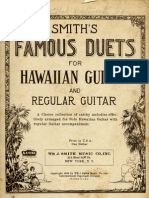 Smith's Famous Duets for Hawaiian Guitar and Regular Guitar.