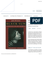 Black Sun -  Depression and Melancholia | Columbia University Press