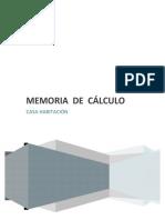Calculo Estructural Trabe Procedimiento