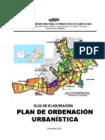 Guía para la Elaboración de Plan de Ordenación Urbanística, Caracas