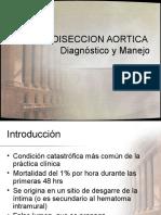 Disección Aórtica Dx y TX