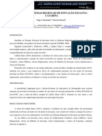 AnAlise de Sistemas Regionais de InovaCAo Em Santa Catarina
