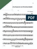 Telemann Viola Concerto - Violoncello