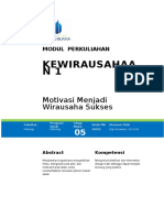 Modul 5 Kewirausahaan