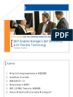 SAP Enables Managers Self Sufficiency With Flexible Technology ABAP Webydynpro and Portal Agnostic Approach1