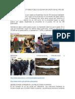 Cuales Son Los Sectores Públicos de Mayor Gasto en El País de Guatemala