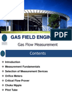 4. Gas Flow Measurement