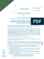 Convocatoria PESDEPED 2015-2016