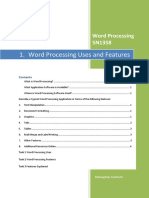 Lo1 Word Processing Uses and Features