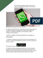 Truco de Whatsap 1