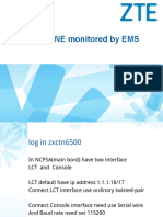 Access NE Monitored by EMS