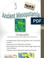ancient mesopotamia powerpoint
