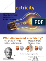 History Electricity