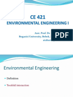 Presentation on Environmental Engineering