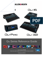 Qu Mixer Reference Guide AP9372 8A