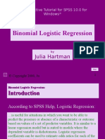 Binomial Logistic Regression