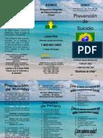 Opúsculo Prevención de Suicidio