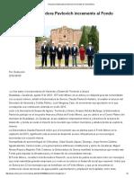 09-08-16 Reconoce Gobernadora Pavlovich incremento al Fondo Minero. -Critica