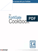 Fortigate Cookbook 5.4