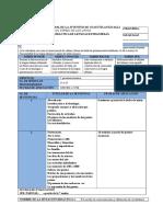 Planeación Didáctica de L. Extranjeras Italiano 2016-II