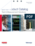 Product Catalog Tektronix
