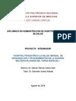 Modelo de atencion en urgencias psiquiatricas