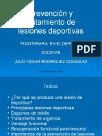 Clase 6 Prevencion y Tratamiento de las Lesiones Deportivas (1).ppt