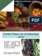 Dieta de frutas en ayunas