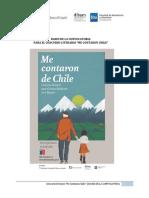 Bases Concurso Literario Me Contaron de Chile 1