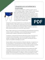 La Bioquímica en La Actualidad de La Estomatología