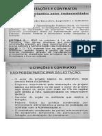 Licitação e Contrato