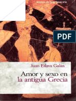 Juan Eslava Galán - Amedor y Sexo en La Antigua Grecia