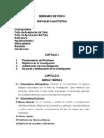 Seminario Estructura de La Investigación Cuantitativa
