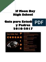 Student-Parent Handbook 2016-2017 Spanish
