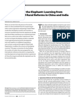 The Dragon and the Elephant Learning From Agricultural and Rural Reforms in China and India
