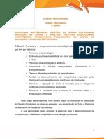 Desafio Profissional Pedagogia 6ª Tatiane Jardim Curado - Validado