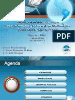 Presentation Sidang Analisa Dan Perancangan Kios Informasi Berbasiskan Multimedia Pada Mal