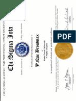 csi documents