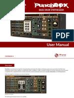 PunchBox - User Manual