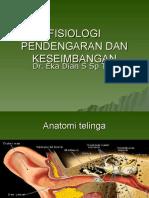 Fisiologi Pendengaran Dan Keseimbangan