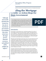 Tackling the Mortgage Crisis