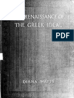 The Renaissance of the Greek Ideal - Emily Diana Watts (1867-1968)