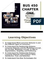 Chapter 1 Consumer Behavior Meeting Changes and Challenges